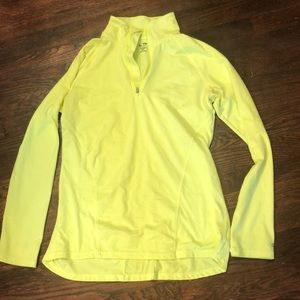 Champion Lemon Yellow Lightweight Pullover
